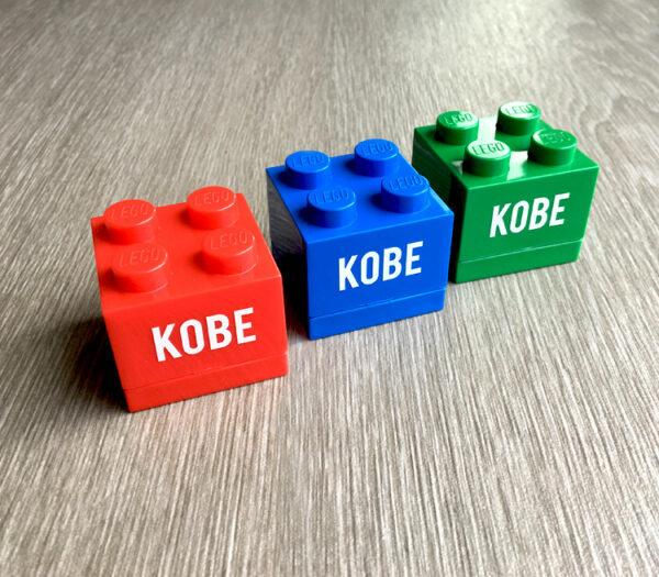 Lego doopsuiker doosje met naam