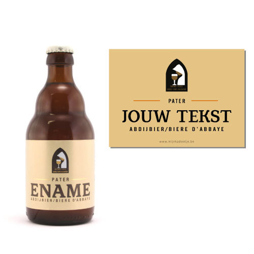 Gepersonaliseerd bier voor Ename Pater - bier personaliseren met naam