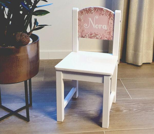 Kinderstoel met naam - Bedrukte kinderstoel als origineel kraamcadeau
