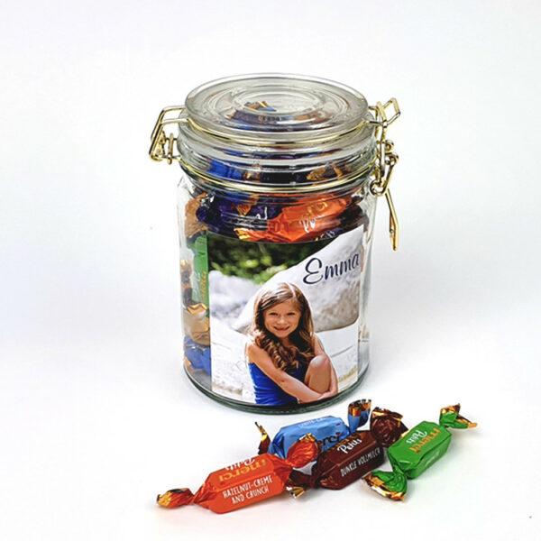 Fotocadeau met snoep - Merci chocolade cadeau