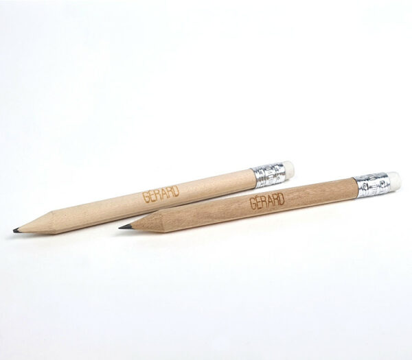 Mini potlood met naam - originele doopsuiker