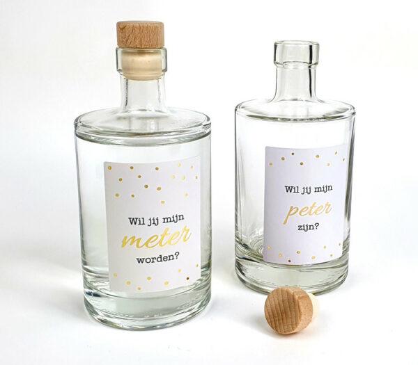 Gin cadeau - gin met naam - Gin tonic cadeau