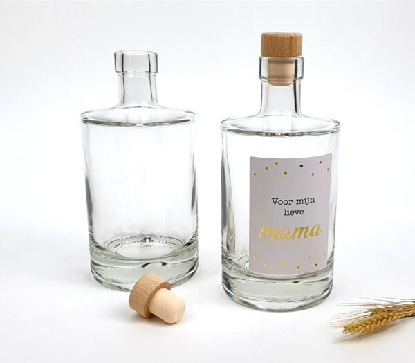 Gincadeau - ginfles moederdag - Drankfles als origineel moederdag cadeau