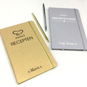 Notitieboekje bedrukt als origineel cadeau voor moederdag - cadeau voor mama personaliseren