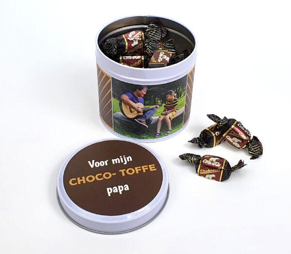 Origineel cadeau voor vaderdag - Chokotoff cadeau voor papa