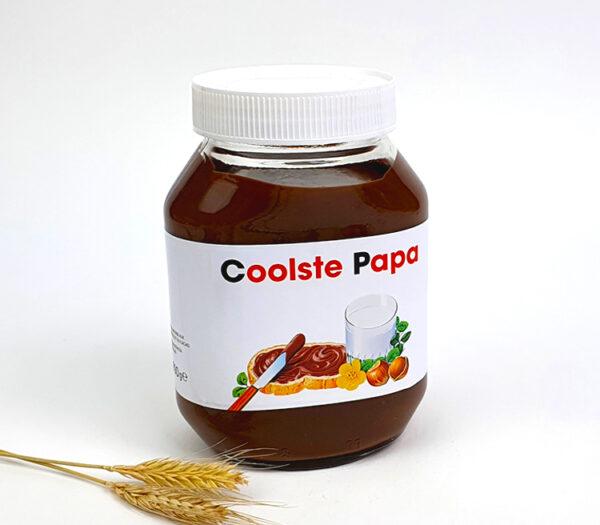 Vaderdagcadeau - Origineel cadeau vaderdag - Nutella met naam als cadeau voor papa