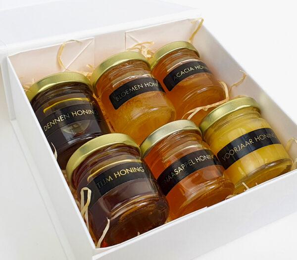 Cadeau voor papa - Origineel cadeau vaderdag - Verse honing geschenkdoos